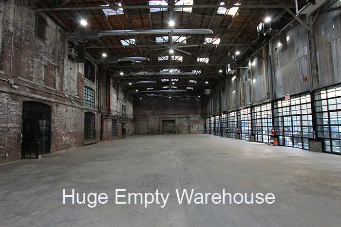 Huge Empty Warehouse