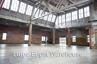 320 Large Bright Warehouse 320