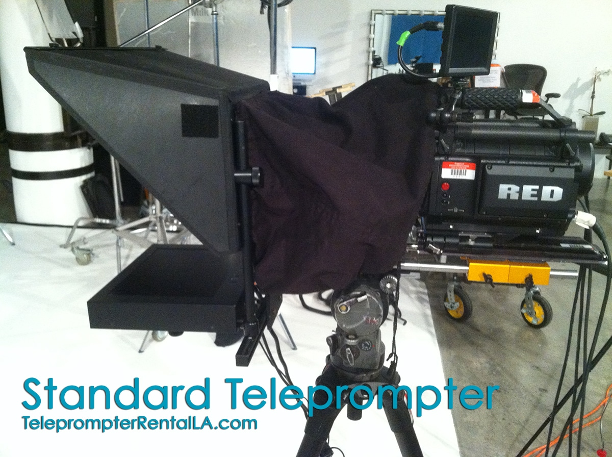 Autocue Hire |  Rent Teleprompter 1