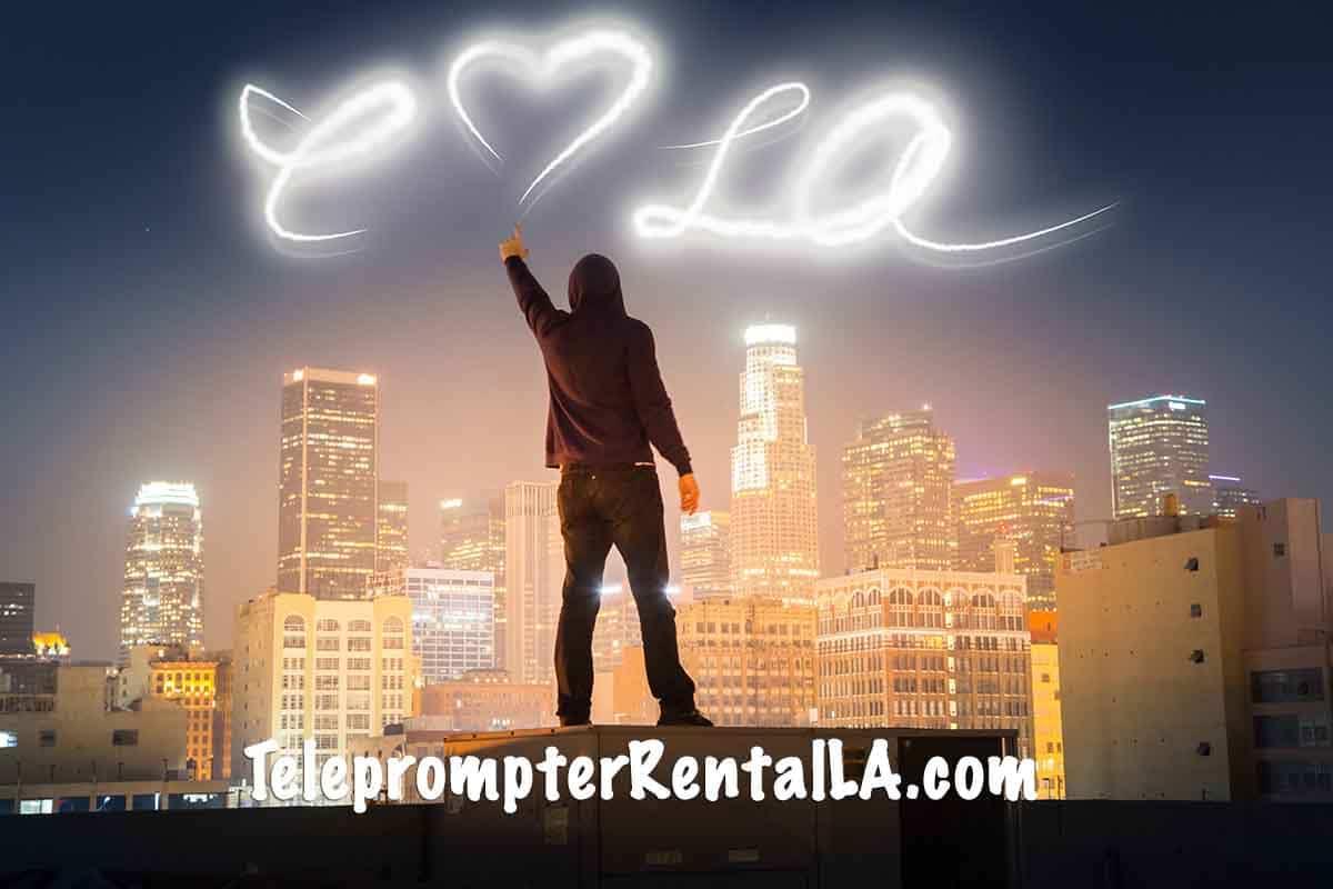 Teleprompter Rental Los Angeles 7