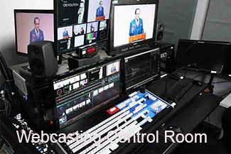 Chelsea North - WebCasting control-room-setup