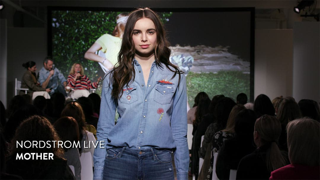 WeBcasting at Milk Studios NYC for Nordstrom Live Fashion Week