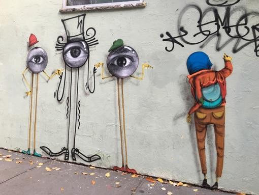 Mural - eyes