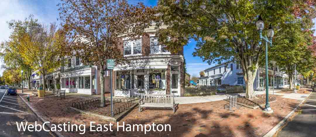webcasting in the hamptons and long island