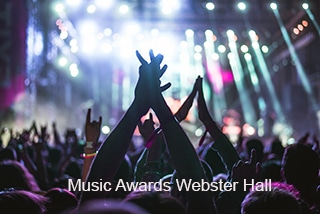 Webster Hall WebCast - Music Awards