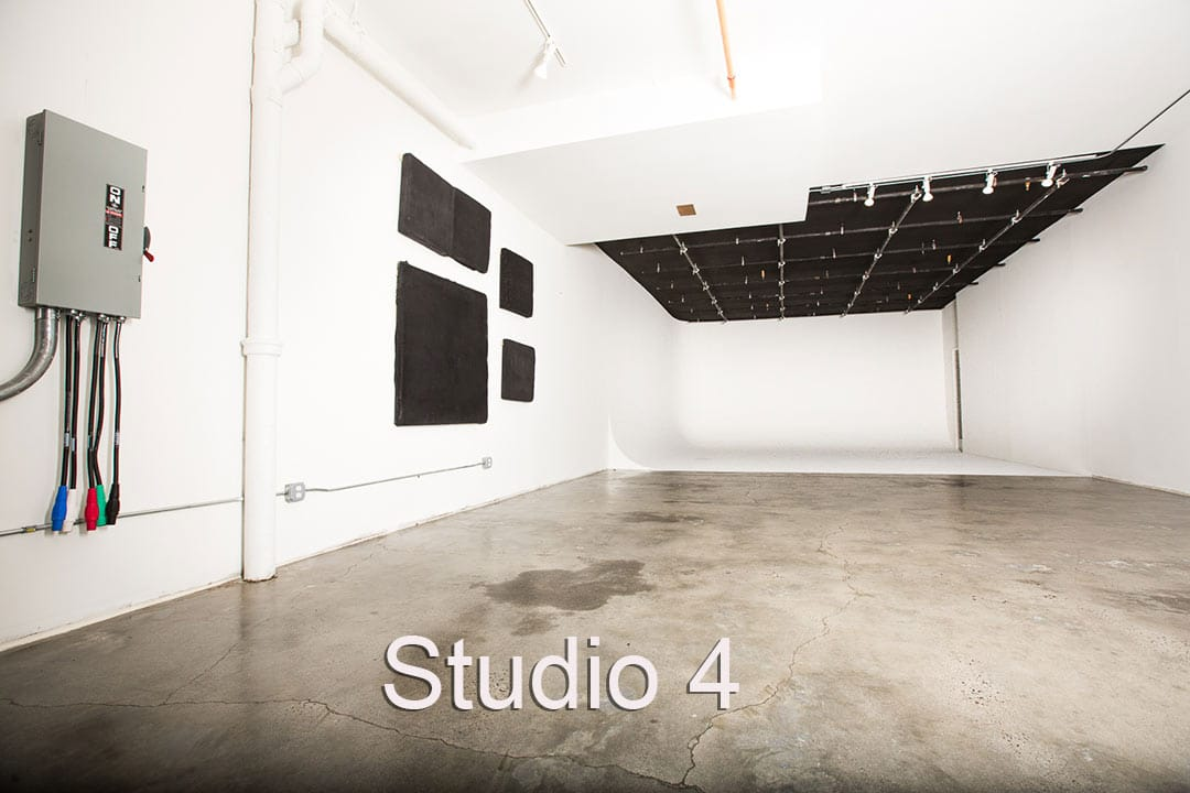Brooklyn Prime Studio 4 2 walled cyc rental white