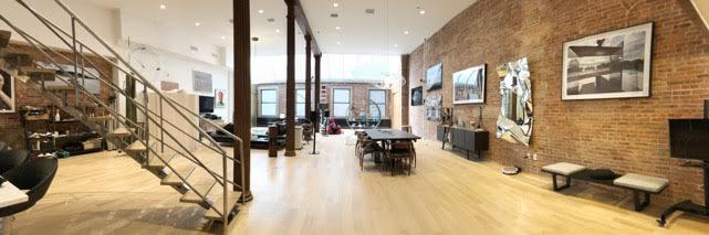 * Image Huge TriBeca studio and triplex loft furnished