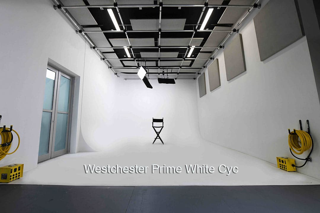 Westchester Prime NY, White Cyc 2 wall Stage