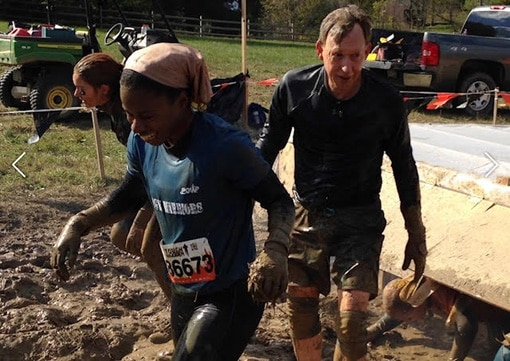 Mudders at Tough Mudder event in Pennsylvania