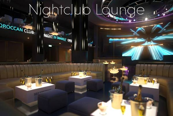 Nite Club Lounge Virtual Set