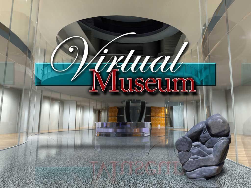 Virtual Museum Lobby & Logo