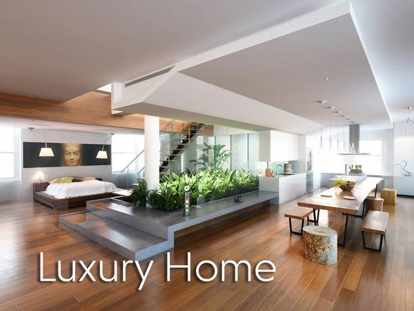 * Image luxury home Virtual Set Interior