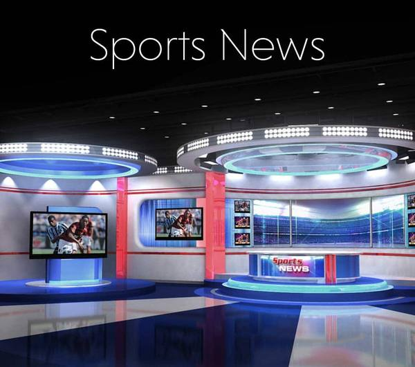 Sports news 3D/4K Virtual Set