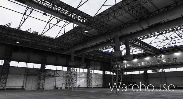 3d Virtual Set Warehouse