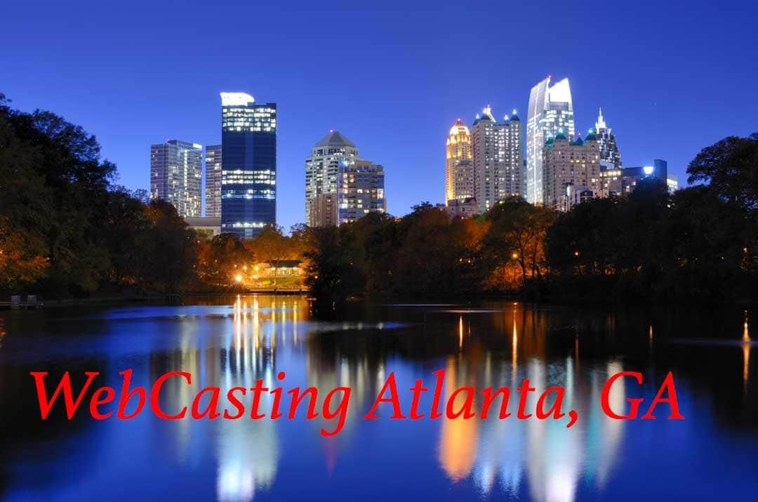 Atlanta WebCasting skyline