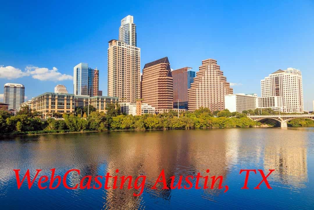 WebCasting Austin - skyline