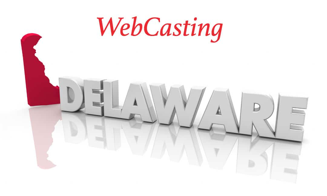 Image of WebCasting Delaware