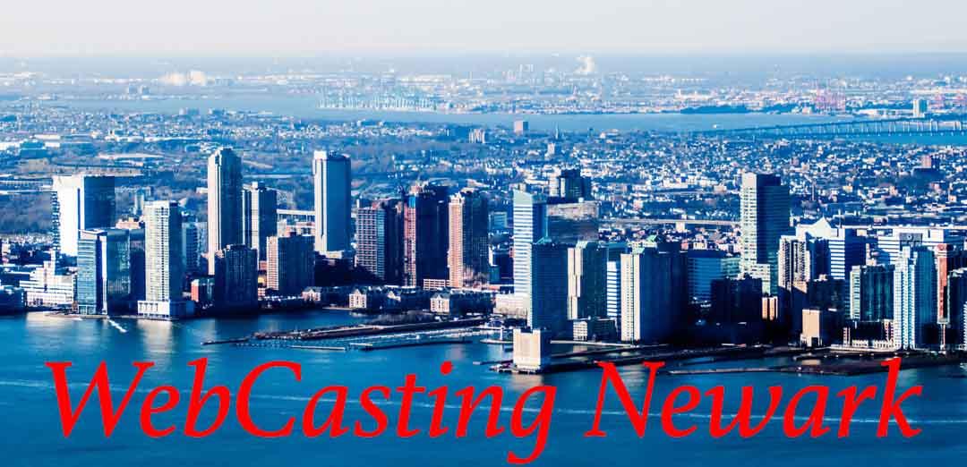 Newark WebCasting skyline
