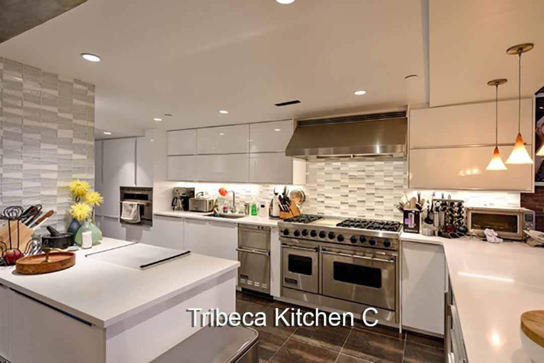 Kitchen Sound Stage Rental nyc Tribeca Loft Kitchen Video Stage modern kitchen set on video sound stage NYC