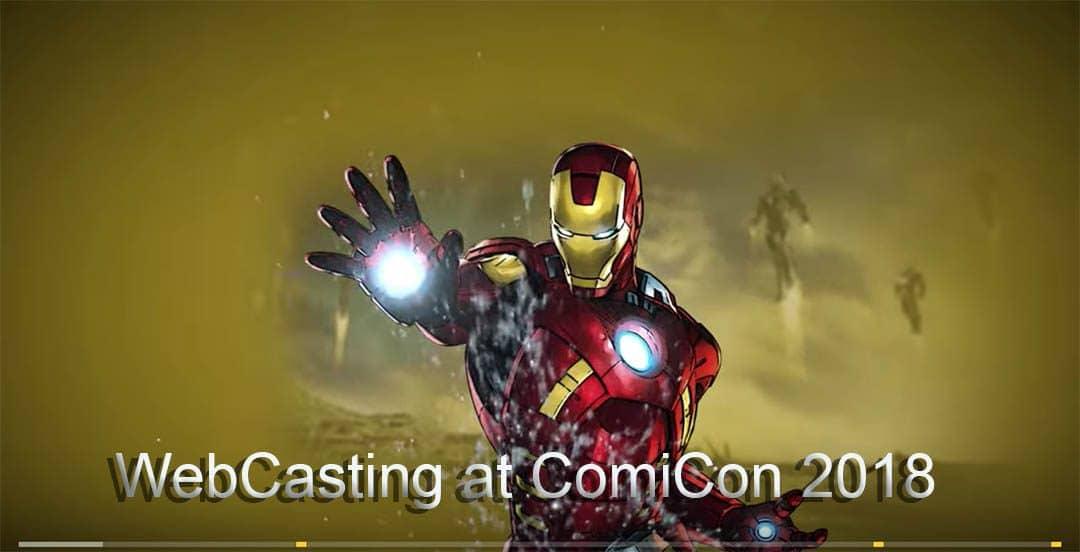 WebCasting ComiCon 2018