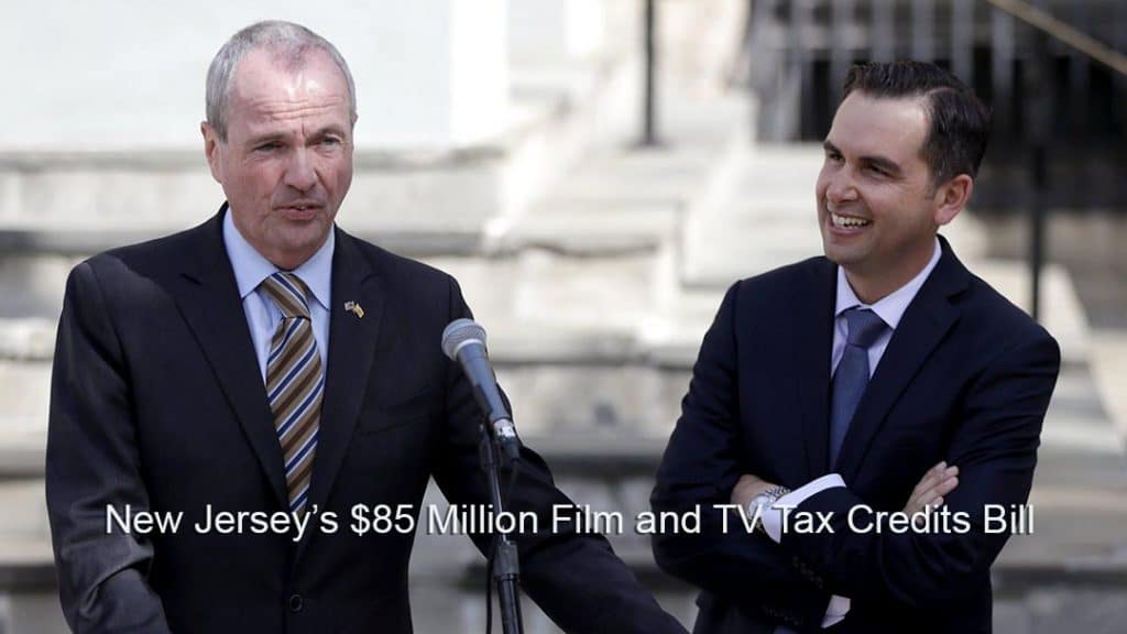 Governor Murphy signs NJ Tax Break For Motion Pictures