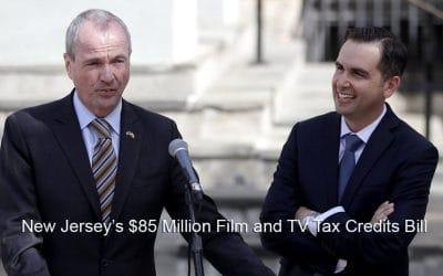 New Jersey's $85 Million Film and TV Tax Credits Bill