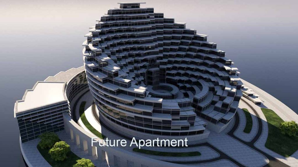 3D Virtual Sets: Future Apartment Complex