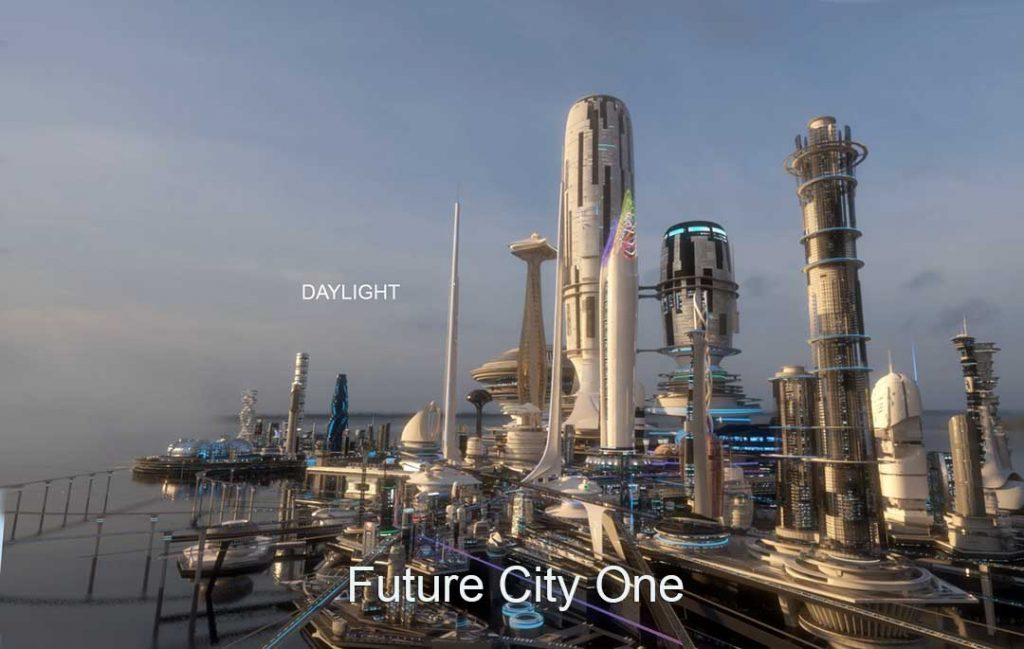 3D Virtual Sets: Future City Day