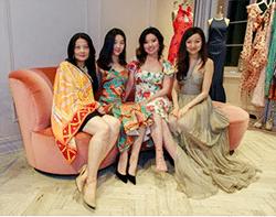 Four Beautiful Chinese Women