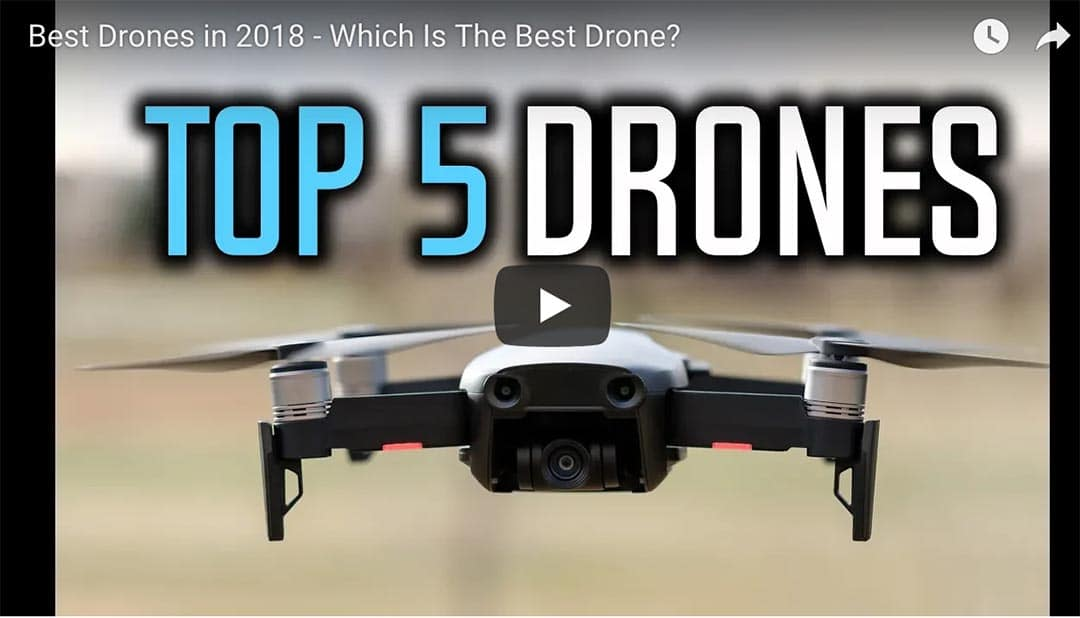 "Image of drone with title ""Top 5 Drones"""