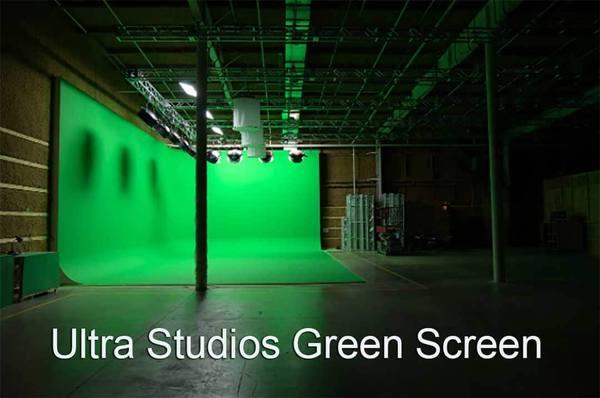 Ultra Studio Green Screen Stage