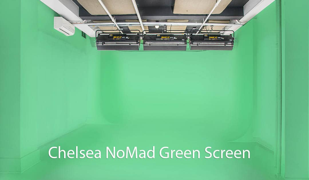 Chelsea NoMad Soundstage NYC | Green Screen/White Cyc 917-414-5489 1