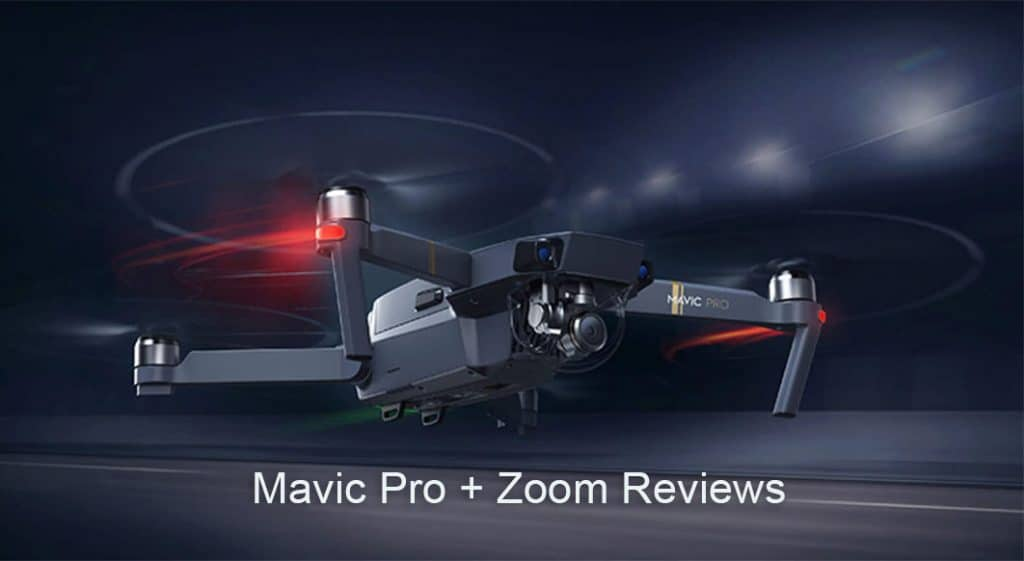 Color image of Mavic Pro Drone with caption