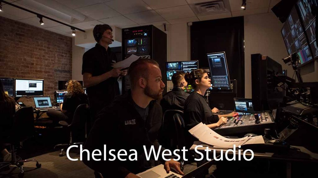 Chelsea West Media Tours Control Room