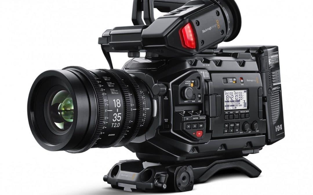 URSA Mini Pro, Canon EOS C100 Mark II & Sony PXW-FS5 XDCAM Reviews