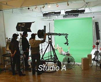 Studio A Green Screen Stage