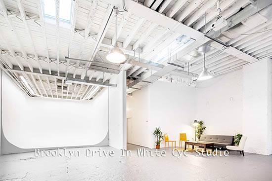Brooklyn Drive In White Cyc Studio