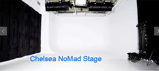 Chelsea NoMad Stage- White Cyc rental