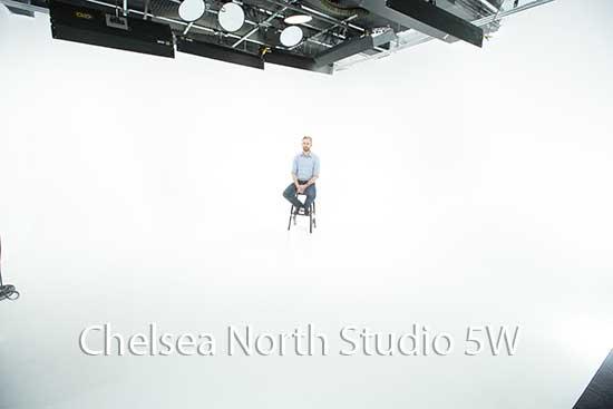 Chelsea North Studio 5 North - White Cyc