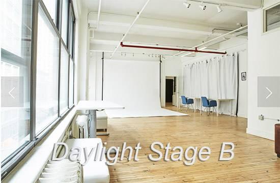 Chelsea South Daylight white cyc Studio B
