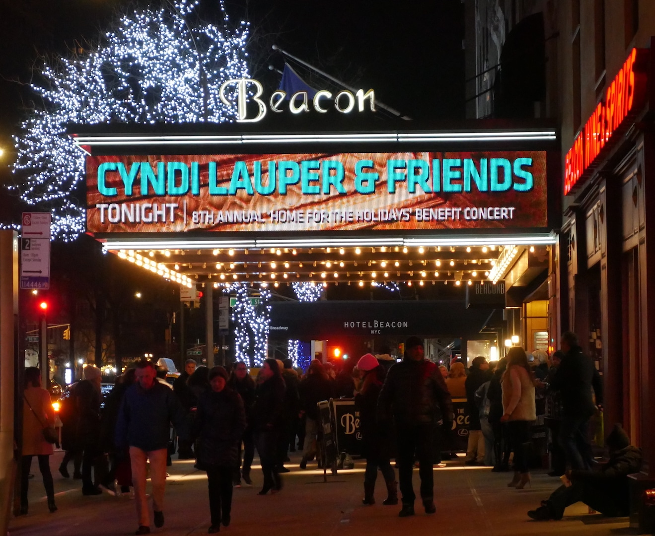 AMC Joins Cyndi Lauper & Friends at the Beacon Theater! 2