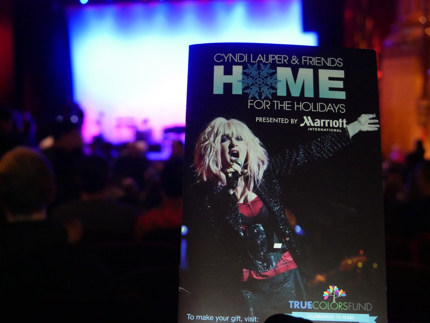 AMC Joins Cyndi Lauper & Friends at the Beacon Theater! 1