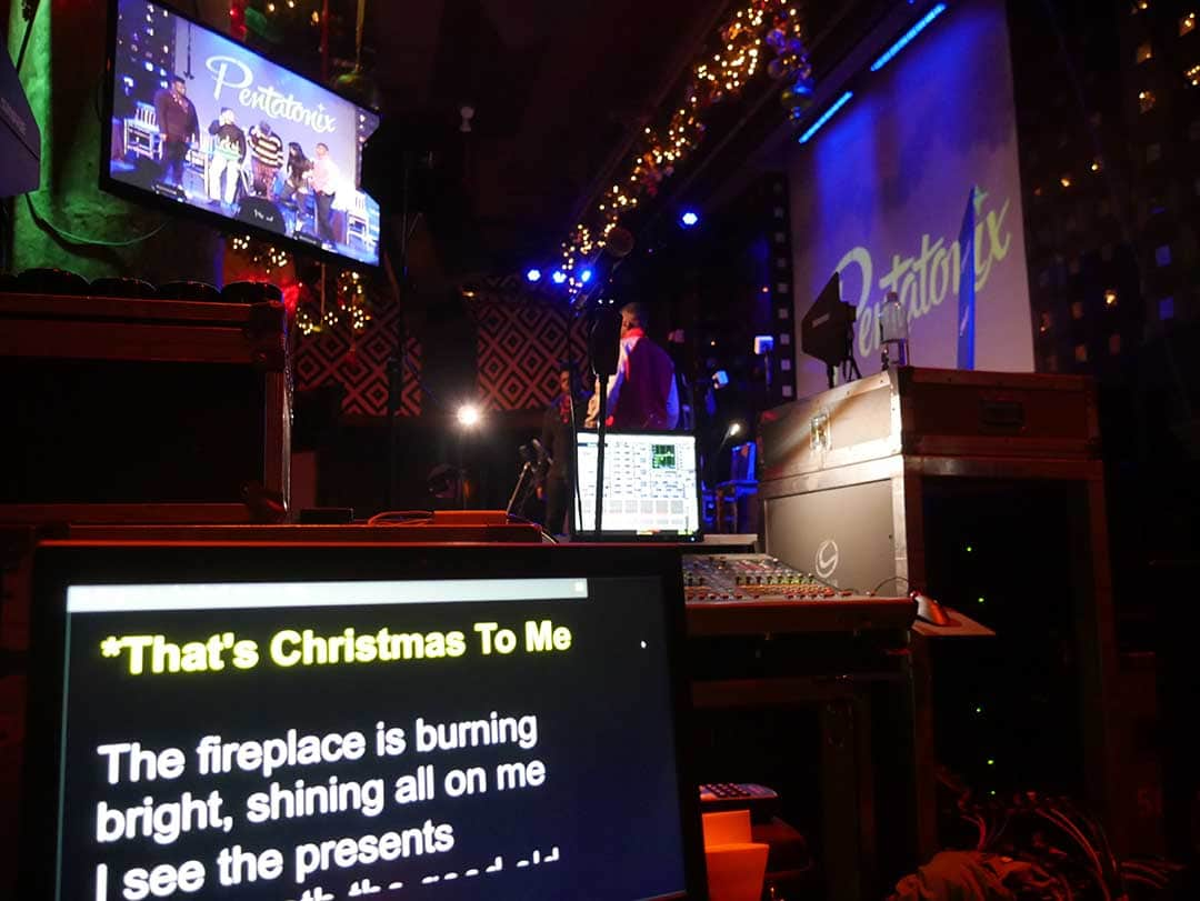 The Teleprompter That Saved Christmas!