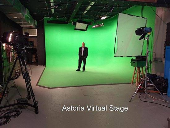 Astoria Green screen Stage