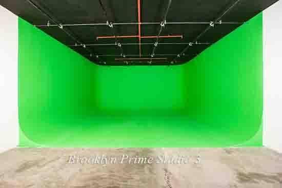 Brooklyn Prime Green Screen Stage Studio 3