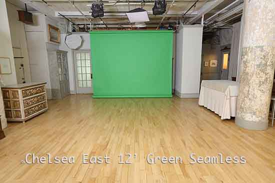 Chelsea East Green Screen Stage