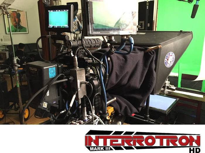 Teleprompter Rental philadelphia: Interrotron rental Face to Face interviews with direct camera eyeline.