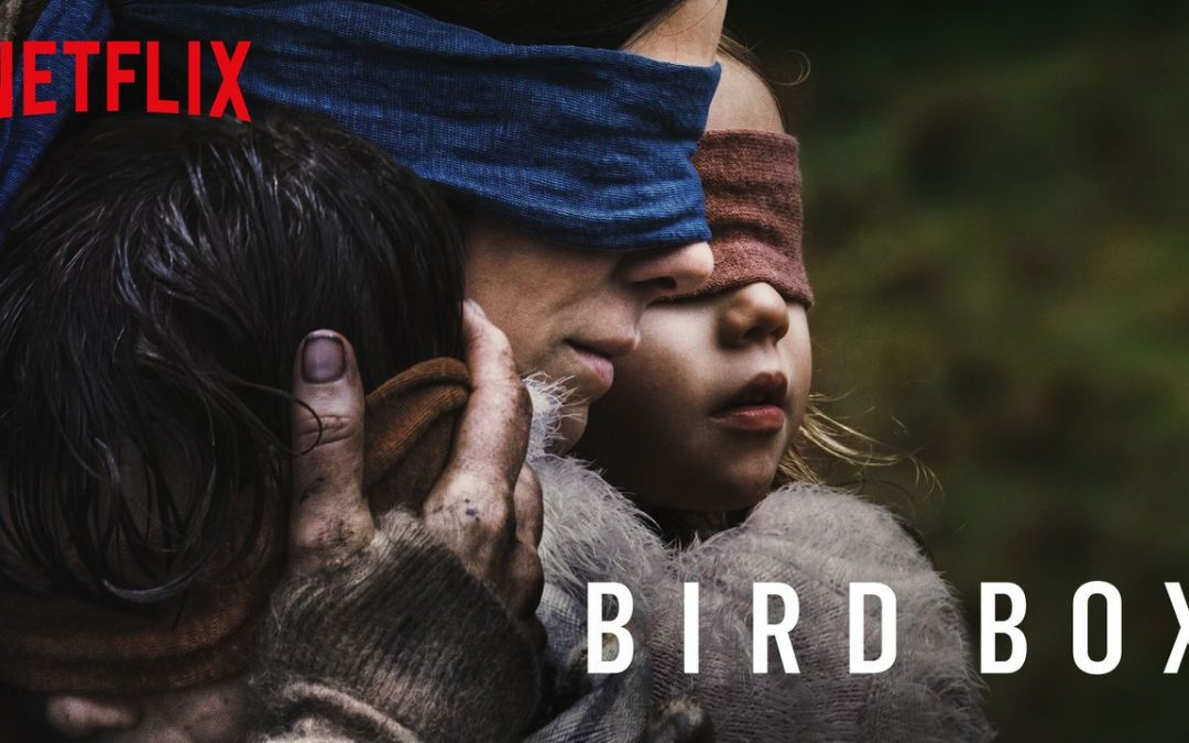 """Bird Box"": Blindfolds On or Off?"