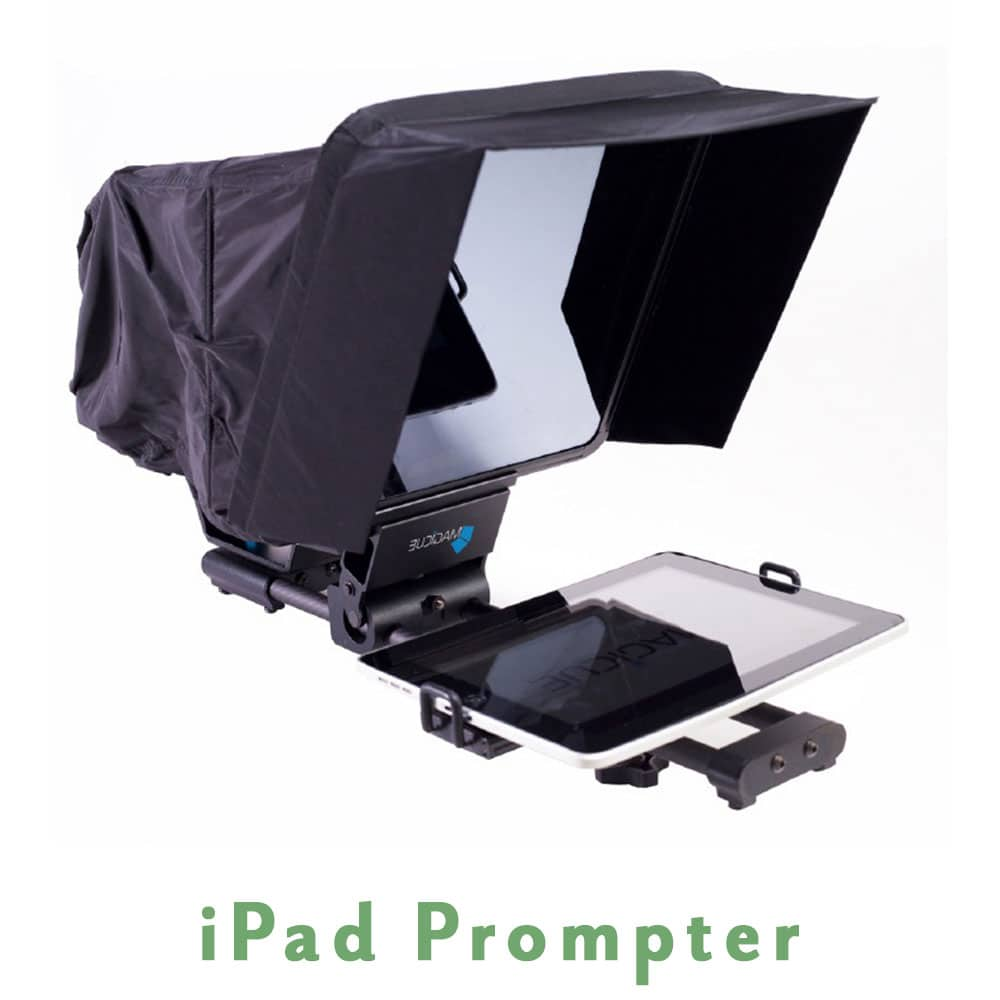 iPad prompter, Teleprompter rental