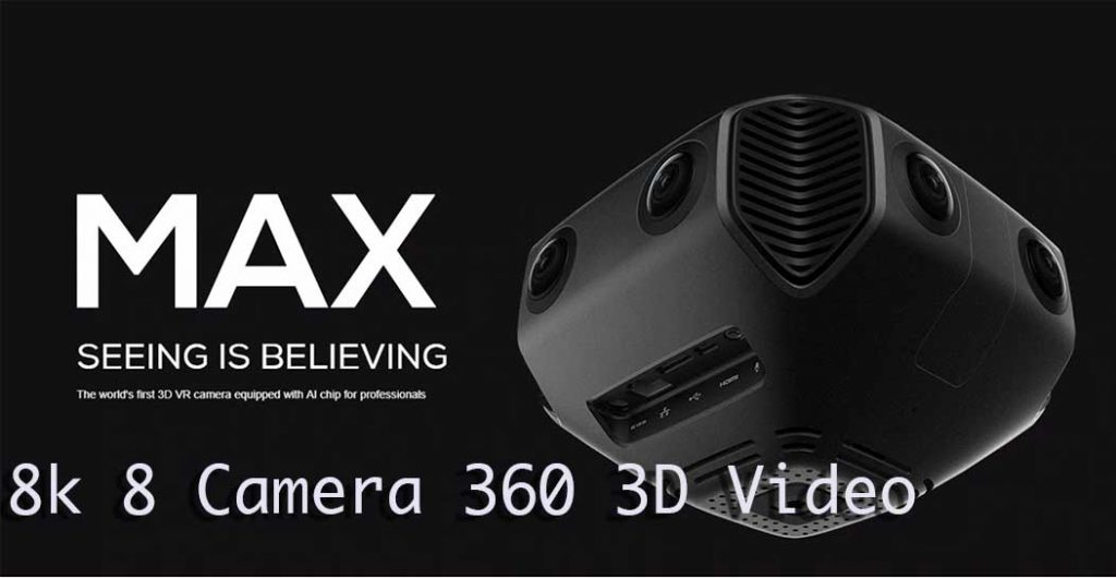 Image of 360 VR camera MA